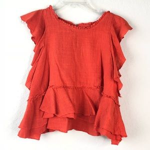 Anthropologie Maeve Blouse Size Small